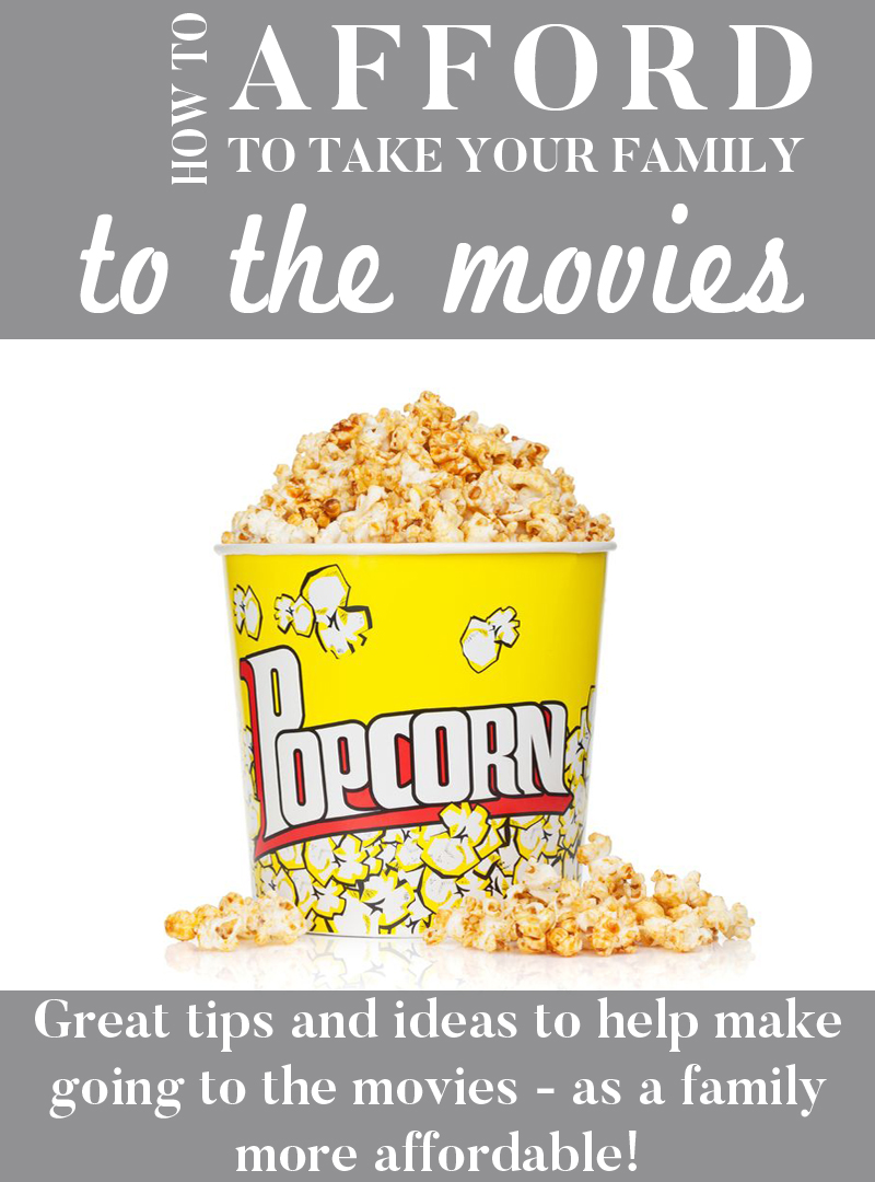 How to afford going to the movies as a family