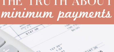 The truth behind minimum payments!