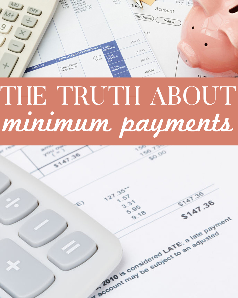 The truth about minimum payments revealed