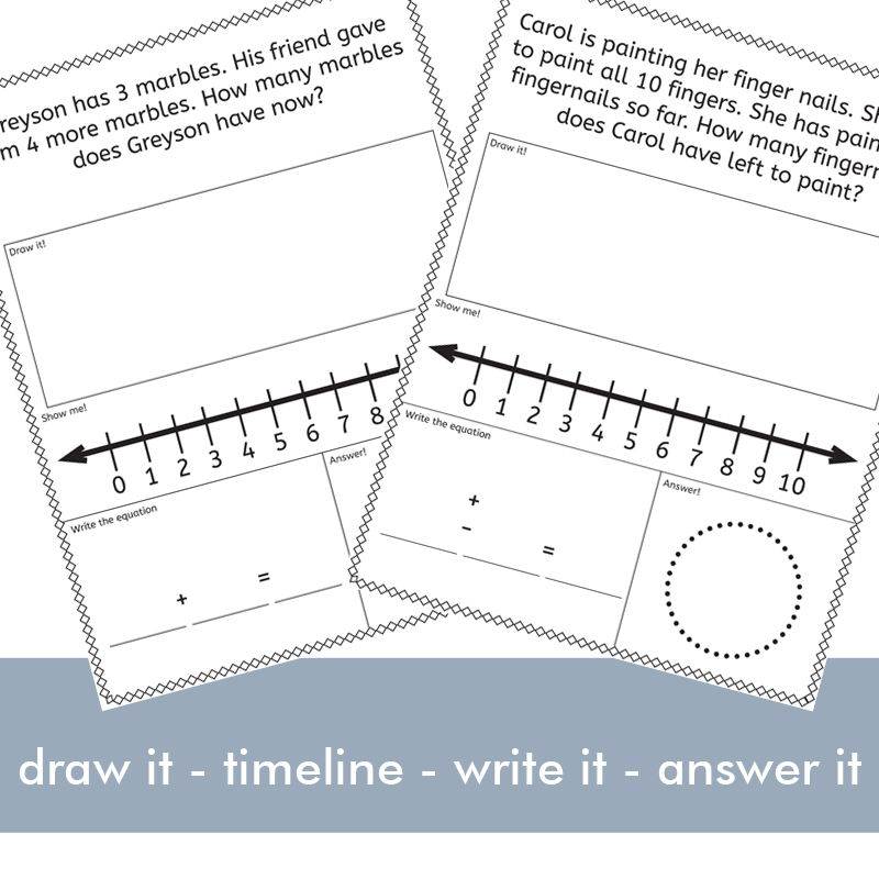 Addition and Subtraction Word Problem image