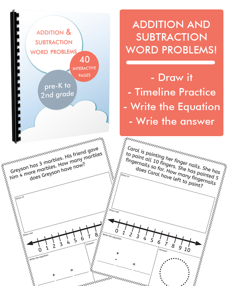 Addition Subtraction Word Problems One Beautiful Home