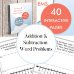 Addition and Subtraction Word Problems product image