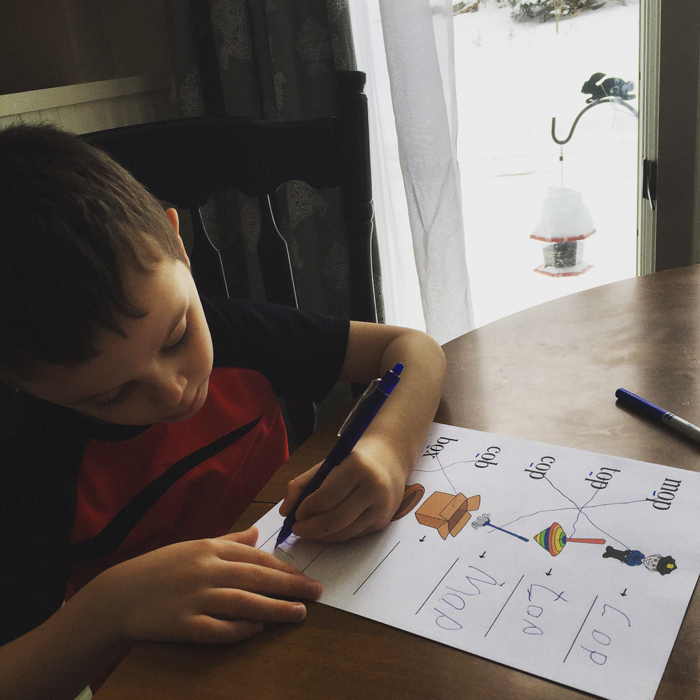 CVC Worksheets by Greyson