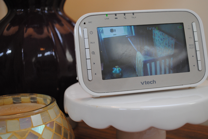 Video Monitor by the bed