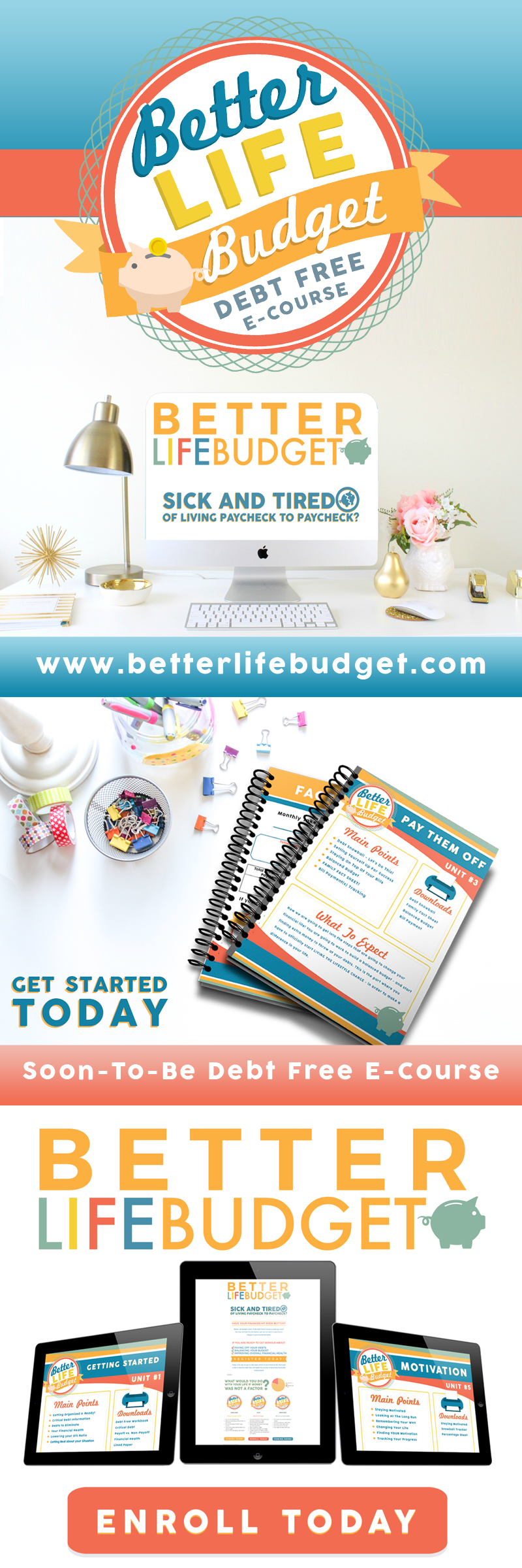 Better Life Budget Debt Free E-Course!!!