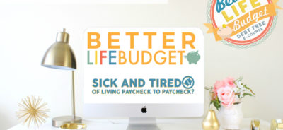 Better Life Budget - Debt Free E-Course!!