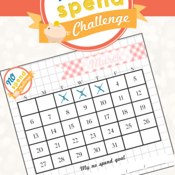 No Spend Challenge – Let's Do This!