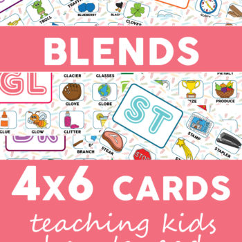 Blends – 4×6 cards