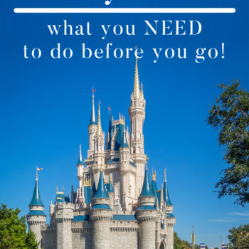 Disney World- What to do before you go!