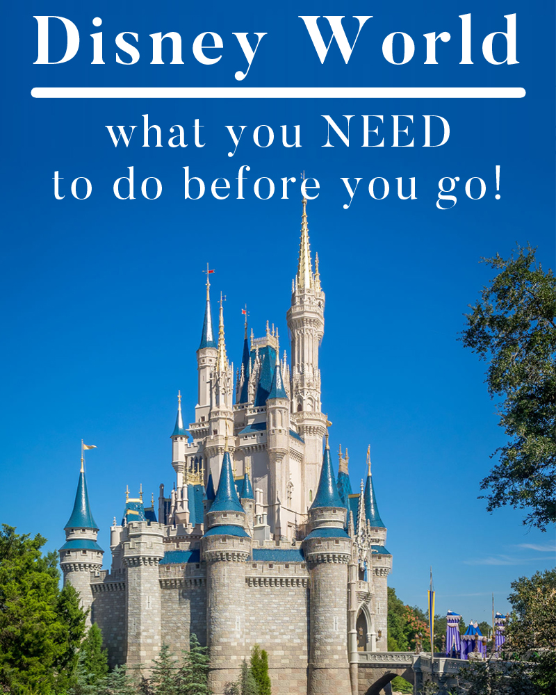 Disney world, what you need to do before you go!