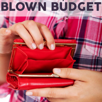 How to fix a blown budget