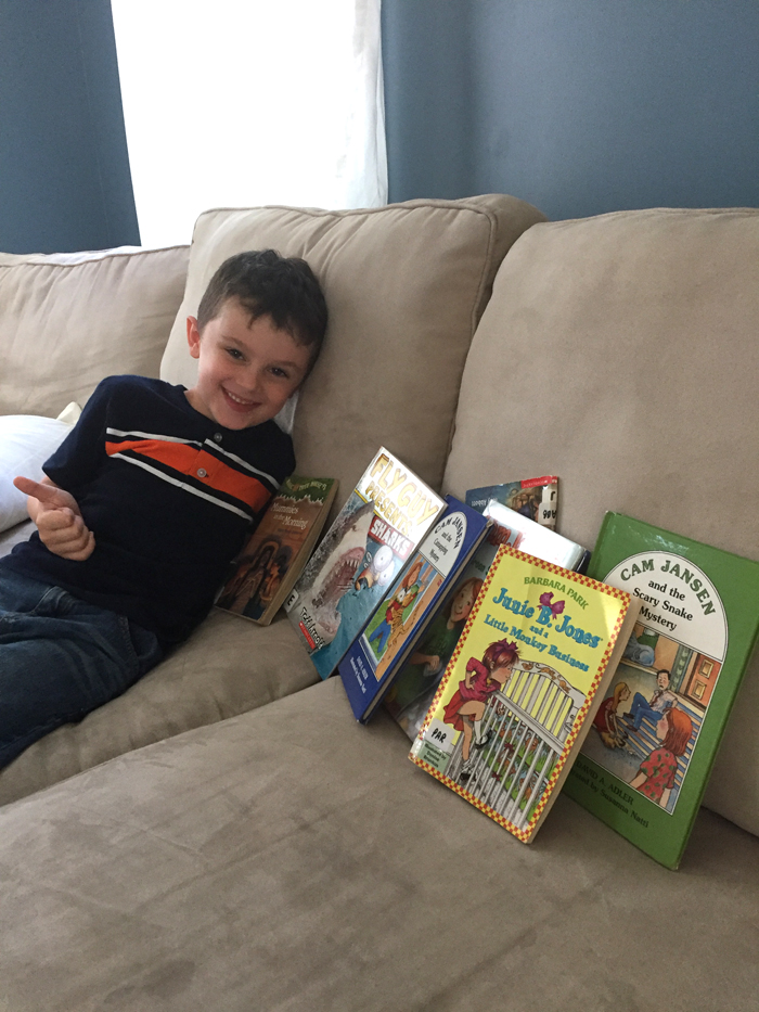 Summer Reading Challenge- Library Books