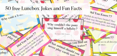 Lunchbox Jokes & Fun Facts for young children