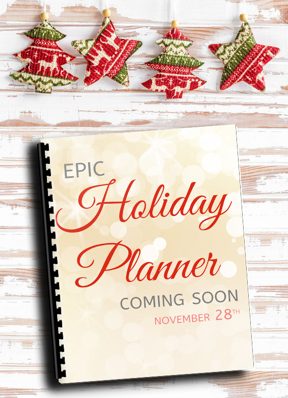 Holiday Planner - Adventures In Organizing