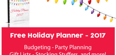 Holiday Planner!