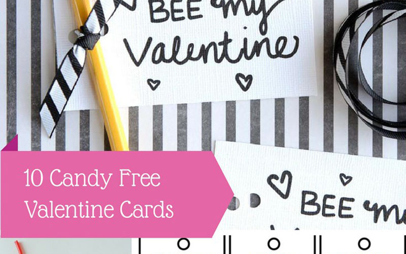 Valentines Day Cards - Candy Free