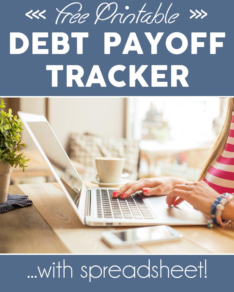 debt tracker spreadsheet