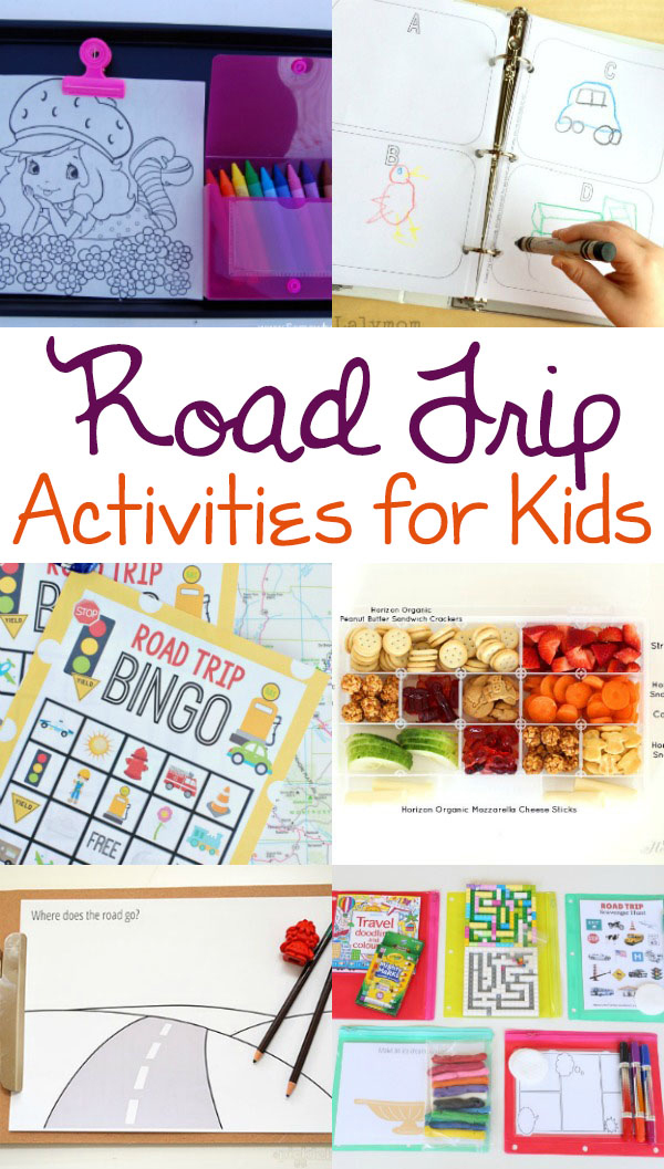 Road Trip Activities For Kids One Beautiful Home