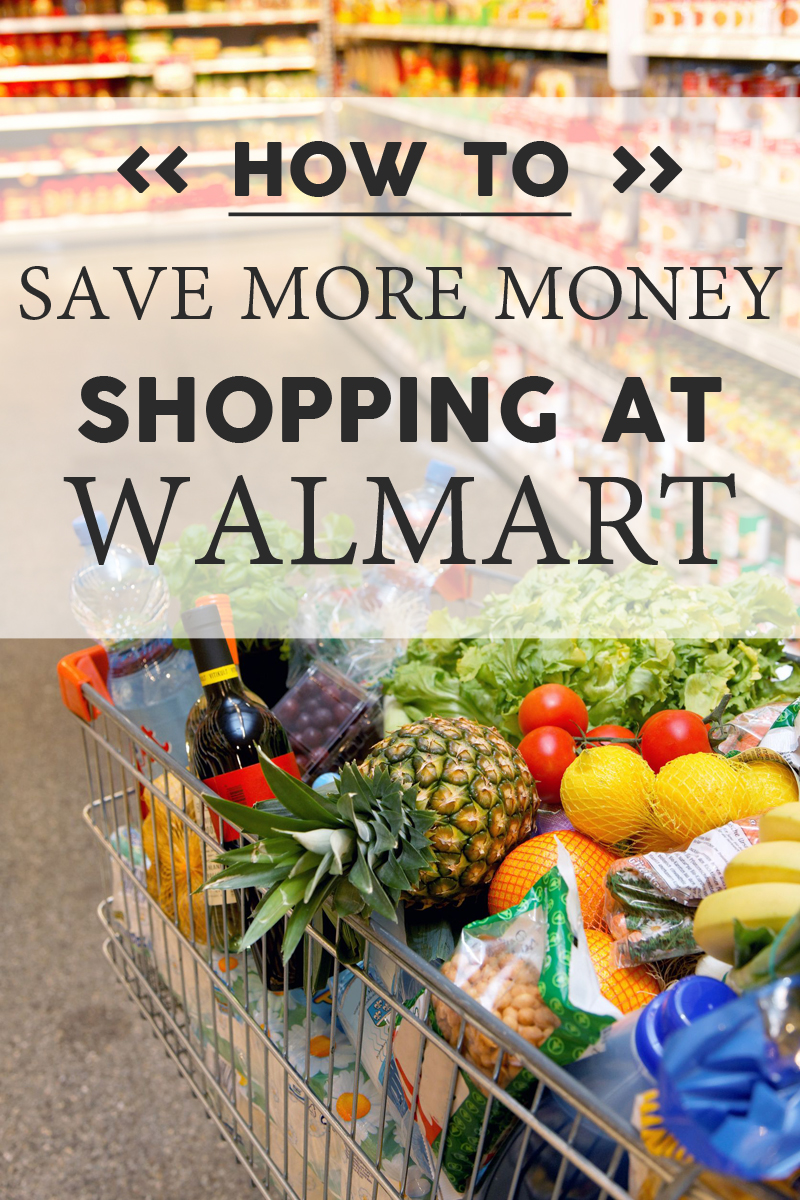 Save More Money Shopping at Walmart