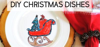 DIY Christmas Dishes