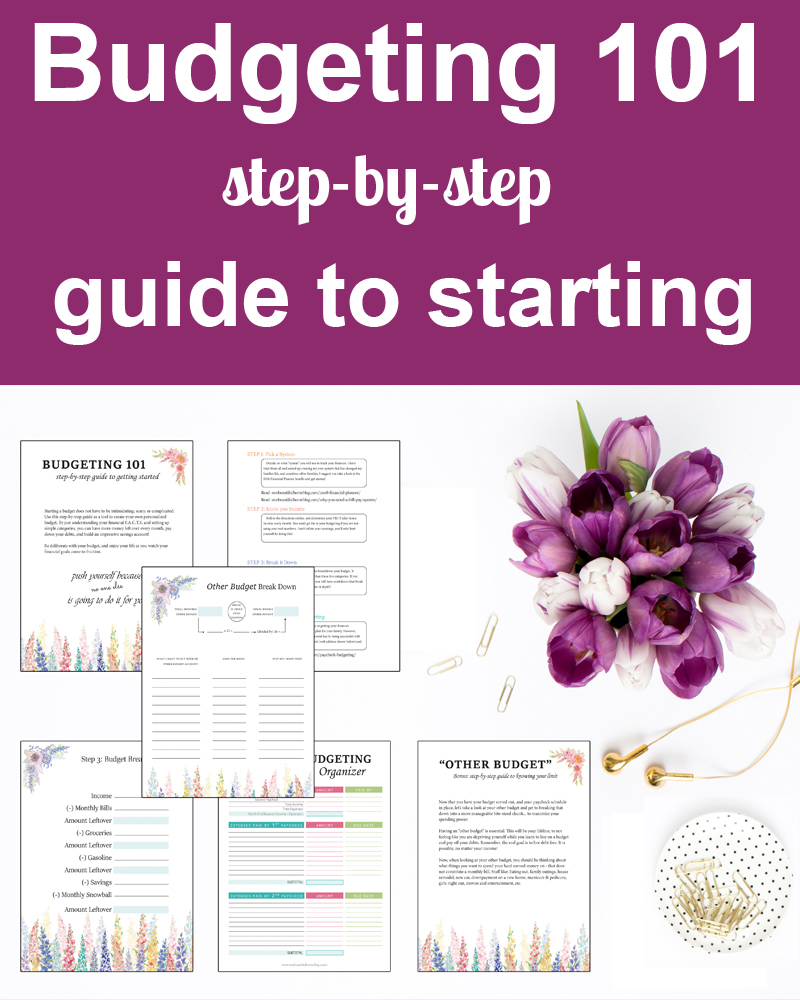 Budgeting 101 Step-By-Step Guide