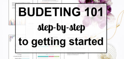 Budgeting Step-By-Step