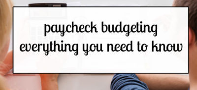 Paycheck Budgeting