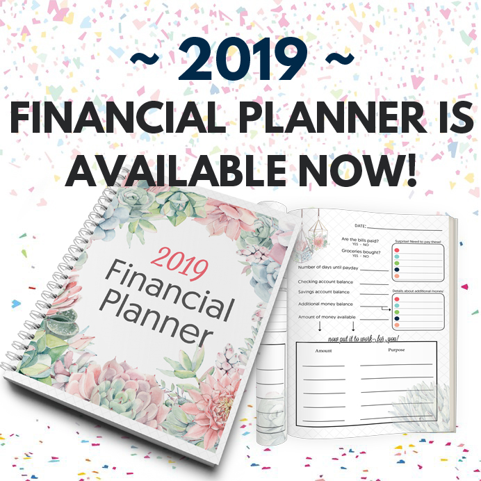2019 Financial Planner! » One Beautiful Home