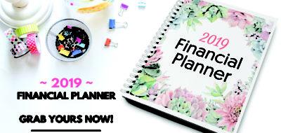 2019 Financial Planner!