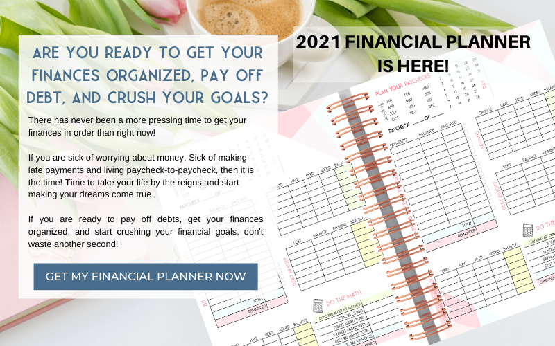 The 2021 Financial Panner Is Here!!